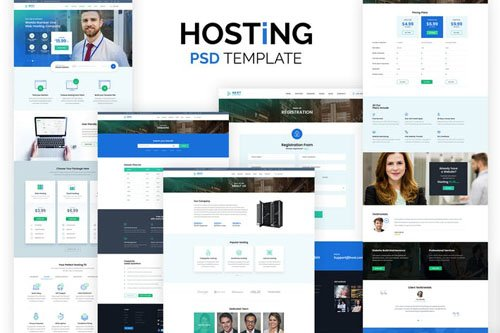 Web Hosting Company Template