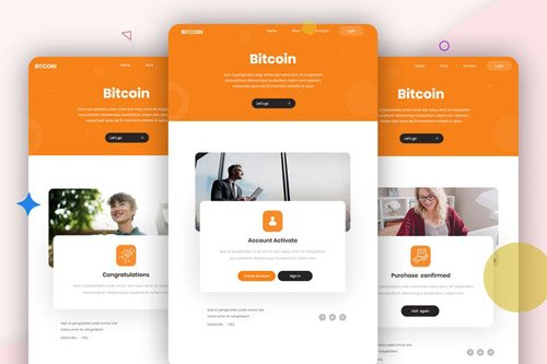 Bitcoin - 10 Email Template