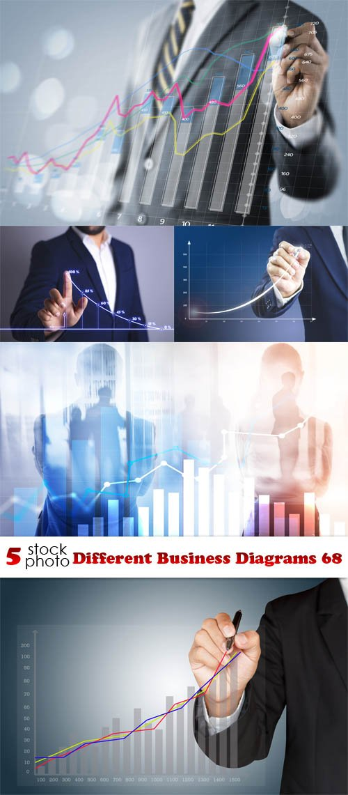 Photos - Different Business Diagrams 68
