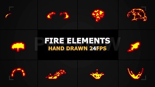 MA - Flammable FX Elements 142355