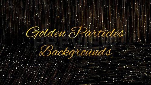 Golden Particles Backgrounds 144882