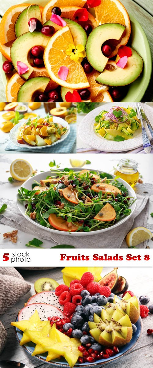 Photos - Fruits Salads Set 8