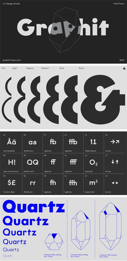 Graphit Font Family