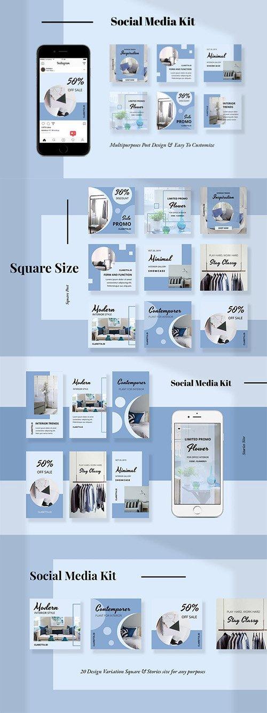 Claretta - Social Media Kit