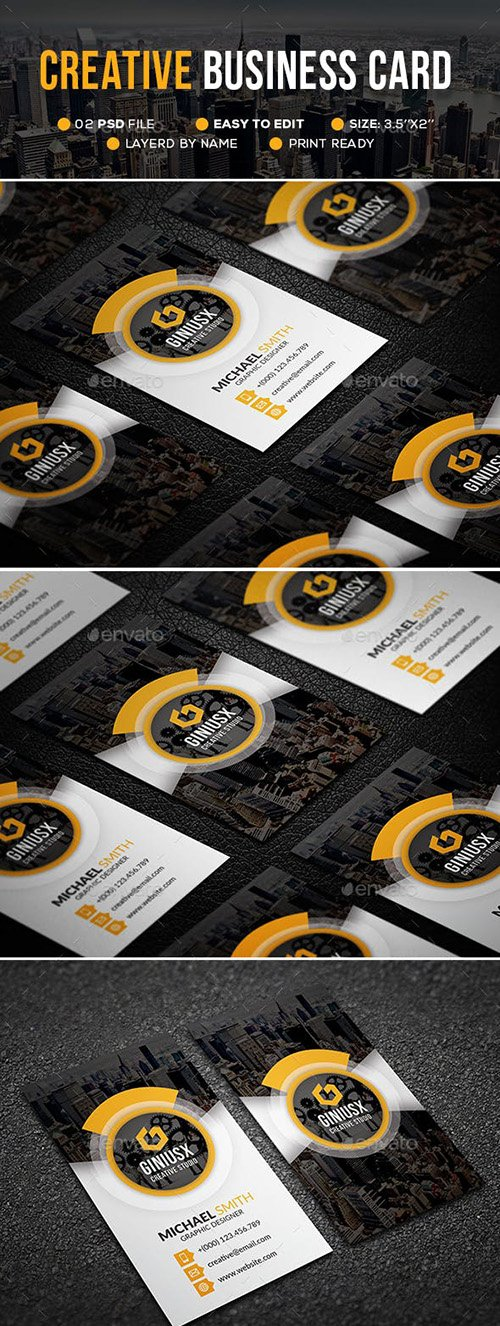 GraphicRiver - Creative Business Card 23072039