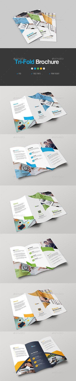 GraphicRiver - Corporate Trifold Brochure 23074402