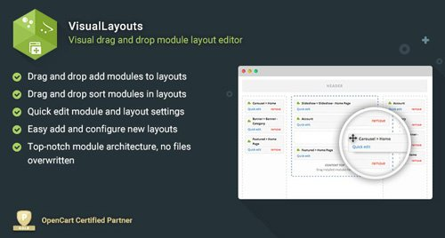VisualLayouts v1.4 - Drag and Drop Module Layout Editor
