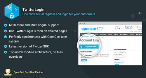TwitterLogin v2.3.4 - Powerful Plug-and-Play Login Button