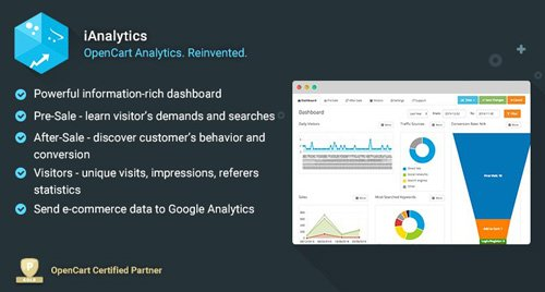 iAnalytics v3.3.2 - OpenCart Analytics. Reinvented.