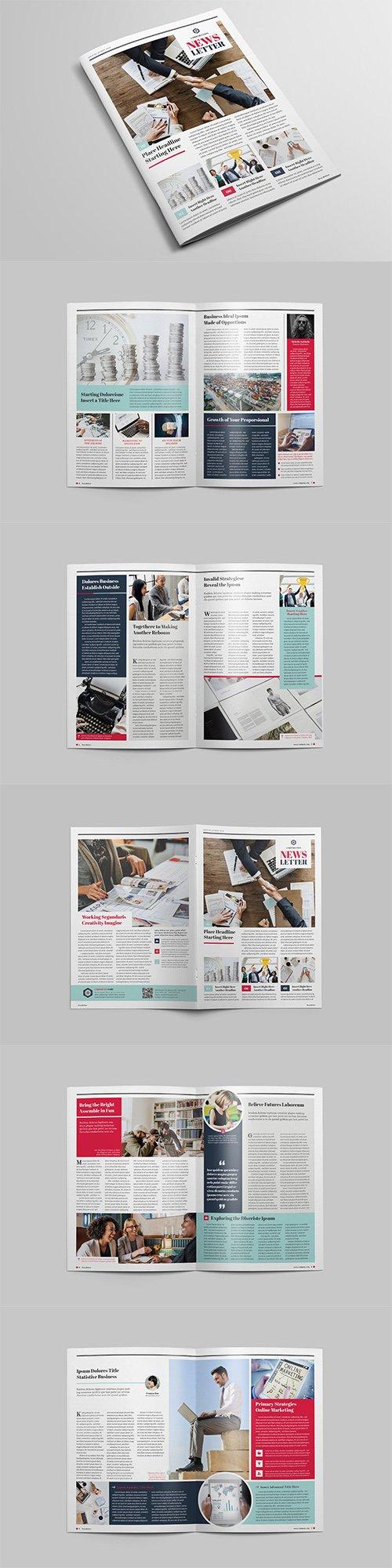 Multipurpose Newsletter Indesign