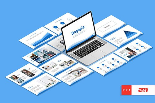 Dogopia Creative Powerpoint Keynote and Google Slides Templates