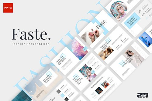 Faste Fashion Powerpoint Keynote and Google Slides Templates