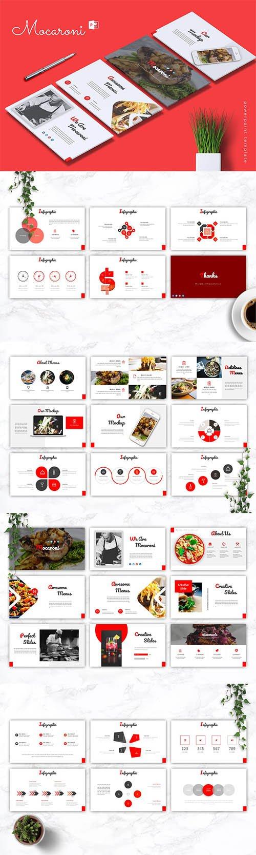 MOCARONI - Powerpoint, Keynote and Google Slides Templates