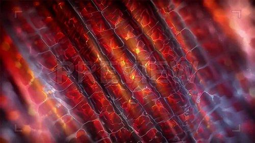 MA - Fiery Tubes Motion Background 139912