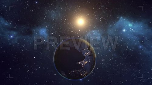 MA - Earth And Sun Space View 144027
