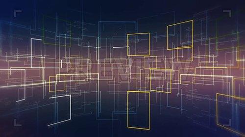 MA - Animated Square Background 152483