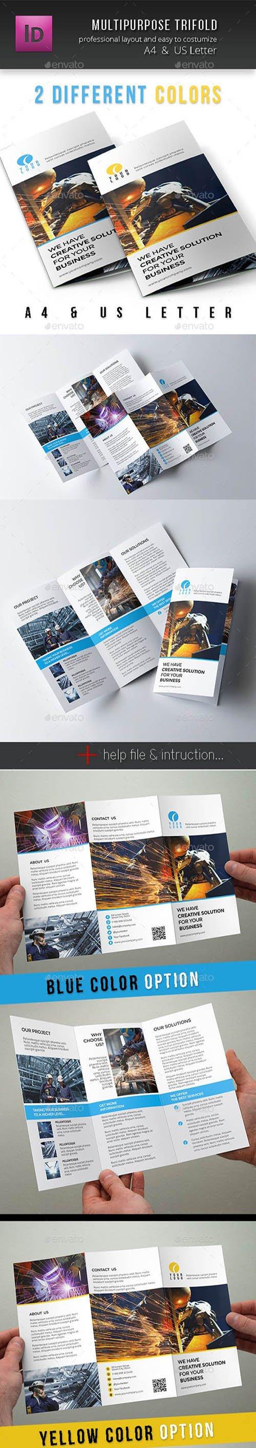 GR - Multipurpose Corporate Trifold 10787042