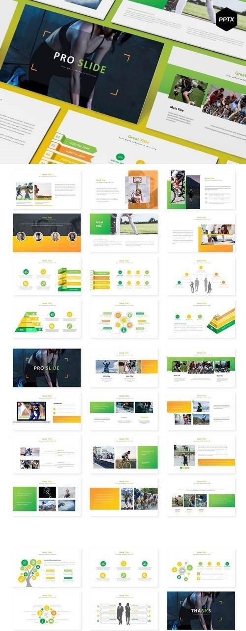 Pro Slide - Hotel Powerpoint, Keynote, Google Sliders Templates