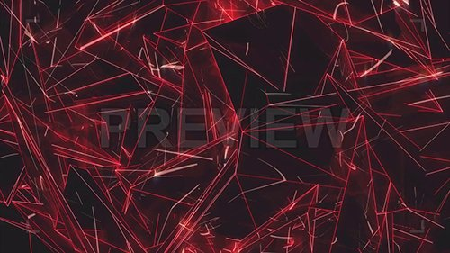 MA - Abstract Red Geometric Moving Panel 135057