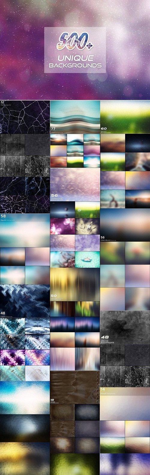 500+ Unique Backgrounds 3062601