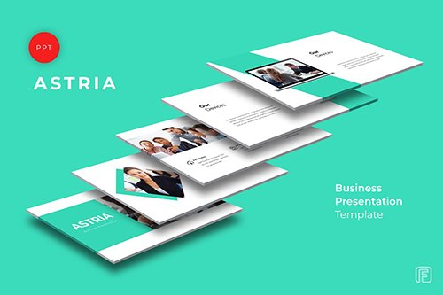 Astria Business Powerpoint, Keynote and Google Slides Templates