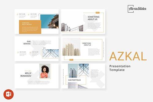 Azkal - Architecture Powerpoint, Keynote and Google Slides Templates