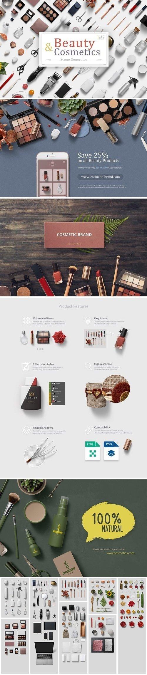 Beauty & Cosmetics Scene Generator 3369239