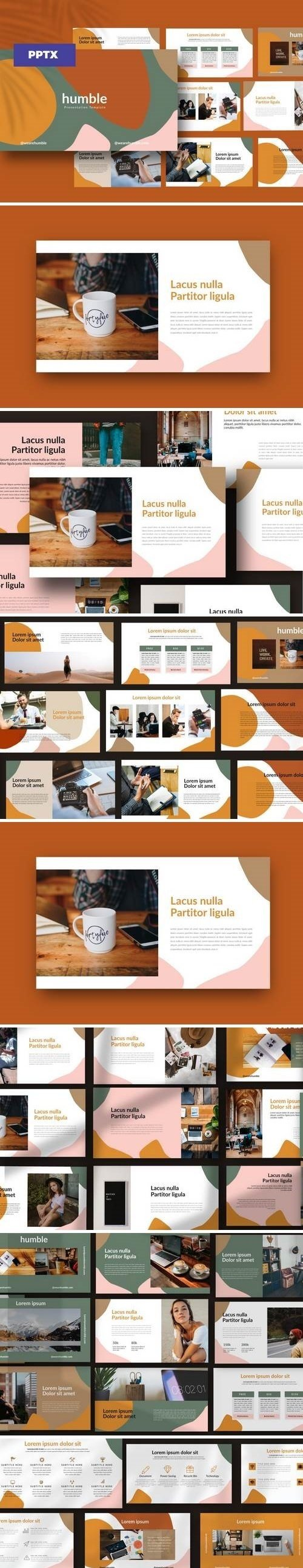 Humble - Powerpoint, Keynote, Google Sliders Templates