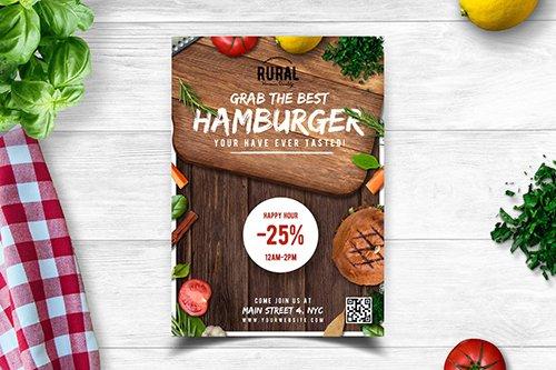 PSD Food Flyer Template