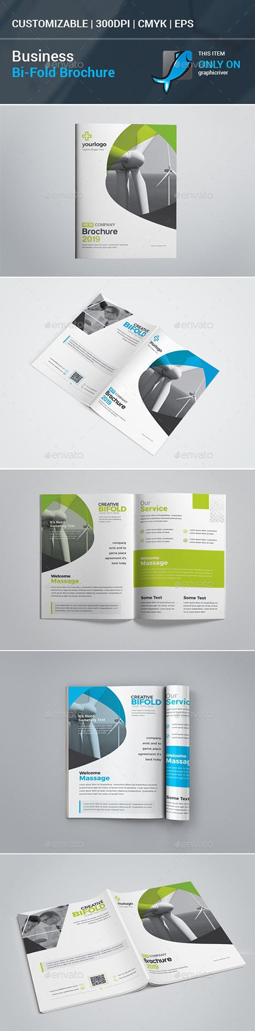 GraphicRiver - Business Bifold Brochure 23172745