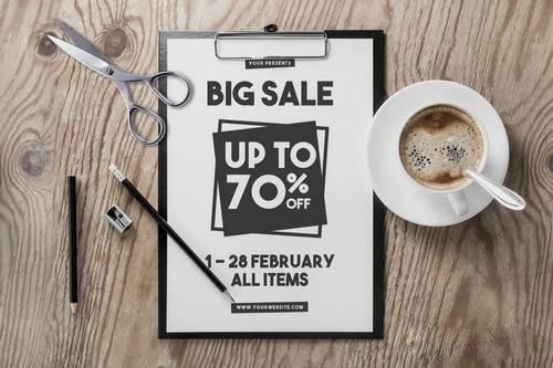 Clean Sale Flyer