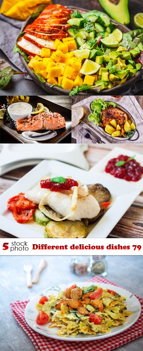 Photos - Different delicious dishes 79