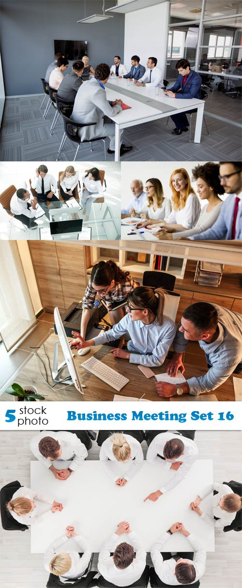 Photos - Business Meeting Set 16