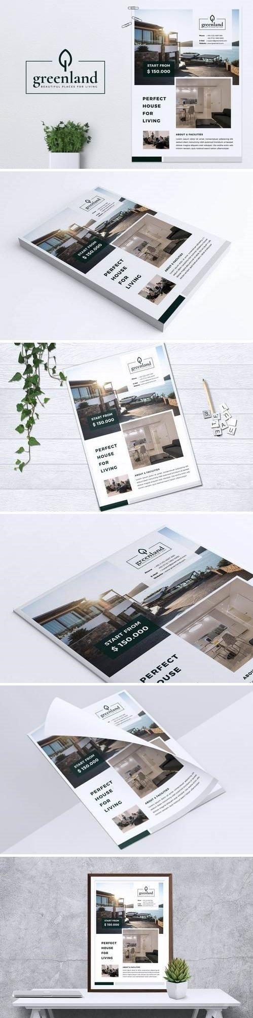 GREENLAND Real Estate Flyer