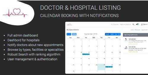 CodeCanyon - Medixa v1.0 - Doctor/ Hospital Listing with Booking - 22746123
