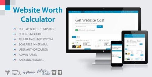 CodeCanyon - Website Worth Calculator v3.5 - 8407620