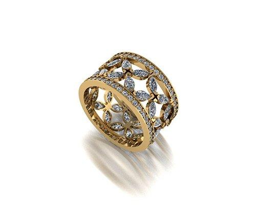 ring diamond 1 3D model