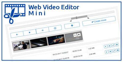 CodeCanyon - Web Video Editor Mini v1.2.1 - 19819399