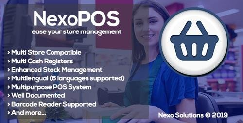 CodeCanyon - NexoPOS v3.14.2 - Extendable PHP Point of Sale - 16195010
