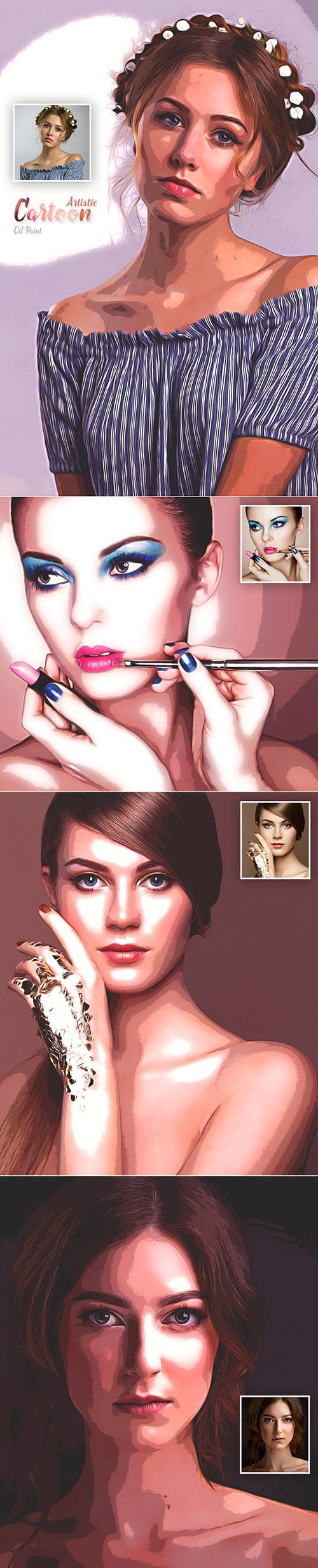 GraphicRiver - Artistic Cartoon Oil Paint 23124994