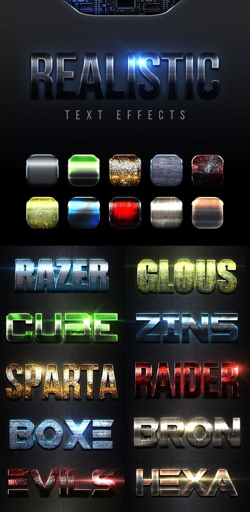 Realistic Text Effects Vol.6 23040063