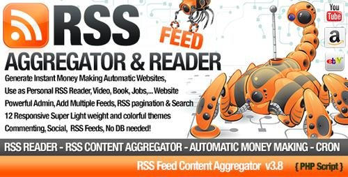 CodeCanyon - RSS Aggregator v3.8 - Niche Content RSS Site Builder - 5970828