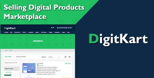 CodeCanyon - DigitKart v1.0 - Multivendor Digital Products Marketplace - 22741024