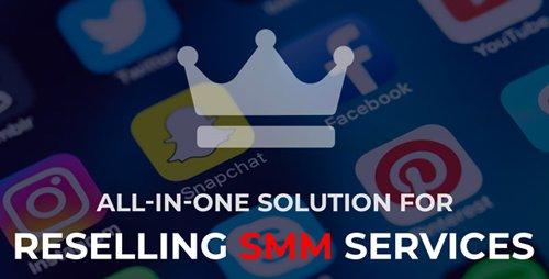 CodeCanyon - SMMKING v1.0 - Social Media Marketing Panel - 22759417