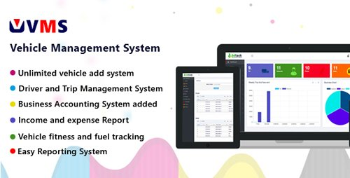 CodeCanyon - VMS v1.0 - Vehicle Management System - 21748640