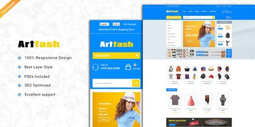 CodeSter - Artfash v1.0 - Responsive PrestaShop Theme - 8833