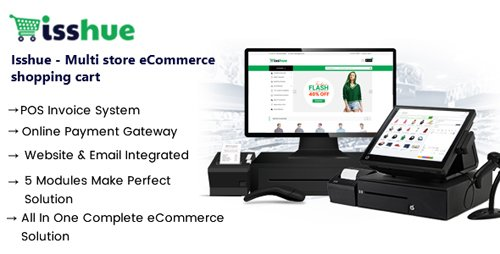 CodeCanyon - Isshue v1.5 - Multi Store eCommerce Shopping Cart Solution - 21576648 - NULLED