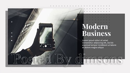 MA - Modern Business - Premiere Presentation 110469