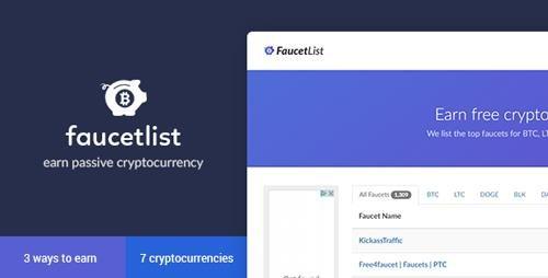 CodeCanyon - Bitcoin Faucet List (Update: 1 August 18) - 20435722