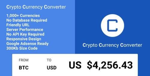 CodeCanyon - Crypto Currency Converter v1.0.7 - 20524397